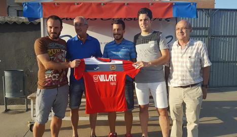 Giribet, Putxi i Genís continuaran defensant la samarreta roja.