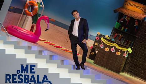 Arturo Valls repeteix com a presentador del concurs d'humor.