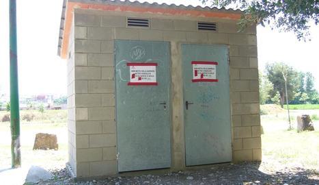 Imatge d'arxiu de danys per vandalisme a Artesa de Segre.