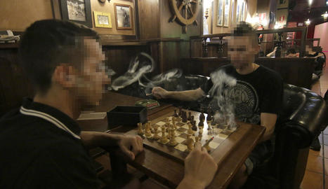 El primer club de fumadors de cànnabis a Lleida ciutat.