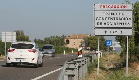 L'N-240 és una carretera amb elevada sinistralitat.
