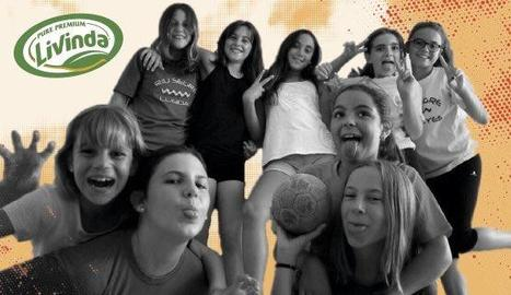 Les jugadores del Pardinyes que volen formar equip infantil.