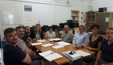 Primeres obres a l'escola de Vilaller després de més de 30 anys