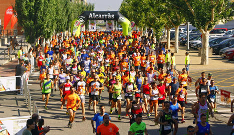 La nova edició de la Nectarina Atlètica va ser un èxit de participació malgrat la calor.