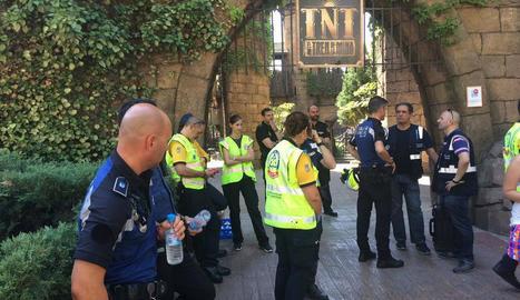 Els equips d'emergències van atendre 33 persones.
