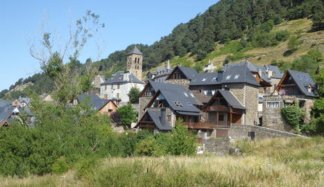 Panoràmica de Vilamòs, el poble guanyador.