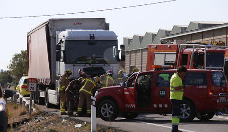 Dues dones mortes i una ferida crítica en un accident a l'N-240 a Juneda