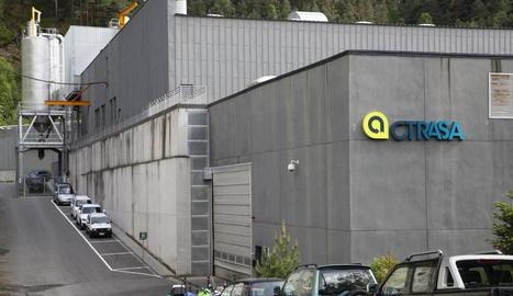 La planta incineradora de la Comella a Andorra on es tracten els residus de la Cerdanya.