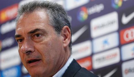 Pep Segura, nou mànager esportiu del club blaugrana.