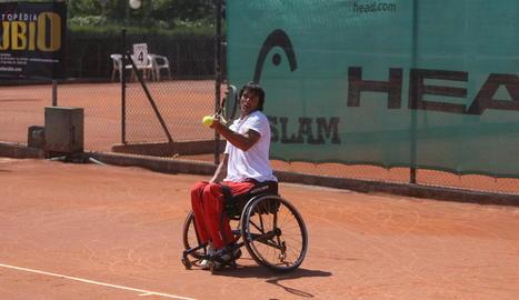 Quico Tur, durant una participació anterior en el torneig.