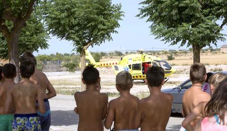 Salva la vida a un nen de sis anys quan s'ofegava a les piscines de Guissona