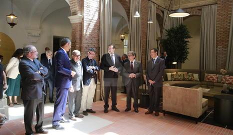 Rajoy inaugura el parador del Roser de Lleida