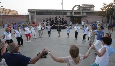 A la Bordeta van ser les sardanes les encarregades d'obrir les celebracions.