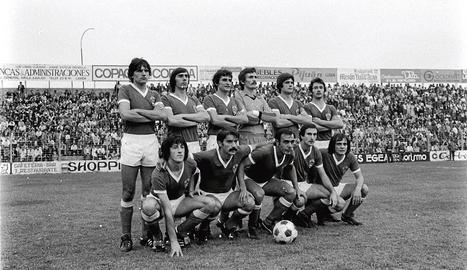 Una formació habitual del Lleida 78-79.