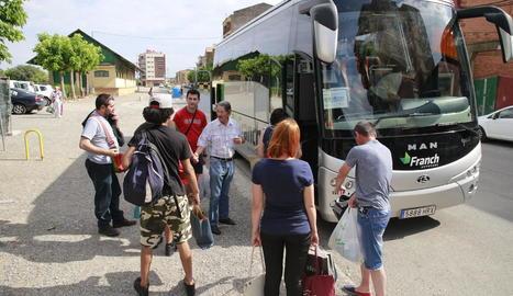 Transbord a Balaguer el passat 26 de juny.