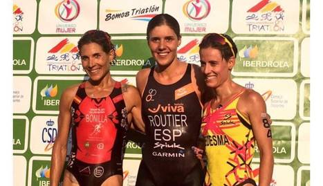 Eva Ledesma, bronze en l'Estatal de triatló