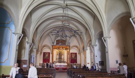 L'església de Sant Pau de Narbona va ser edificada sobre un temple anterior del segle XII.