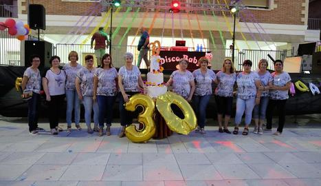 La Dona de Mequinensa celebra el trentè aniversari