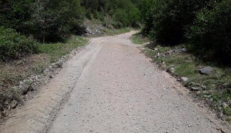 El Parc Natural de l'Alt Pirineu millora la pista d'accés a la Pica d'Estats
