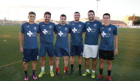 El conjunt de les Garrigues va iniciar ahir la pretemporada amb la plantilla gairebé tancada, en la qual només falta el fitxatge d'un davanter.