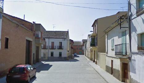El carrer Migdia disposava de dos contenidors de superfície.