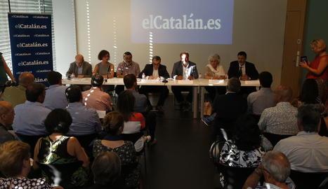 Presentació del llibre 'La Cataluña que queremos'