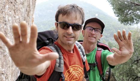 """Iker i Eneko Pou: """"En l'escalada hi ha un perill intrínsec i negar-ho és trair-ne l'essència"""""""