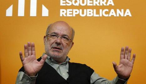 Terricabras proposa una vaga de fam si l'Estat impedeix l'1-O
