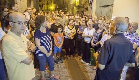 La visita guiada de dimarts passat a Cervera va comptar amb una gran afluència de públic.