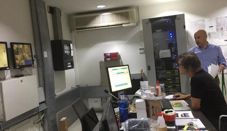 La sala de seguretat és un dels espais que inclou l'itinerari.