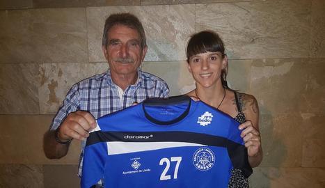 Blanca Martínez, segon fitxatge de l'Associació