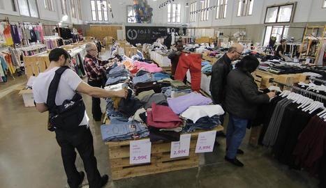 L''outlet' de roba va estar en funcionament quasi tres anys, fins a tancar el març passat.