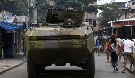 Ofensiva militar en faveles de Rio de Janeiro
