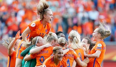 Holanda s'emporta l'Eurocopa femenina