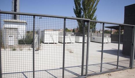 Les instal·lacions de la minideixalleria de la Fuliola que preveuen obrir a la tardor.