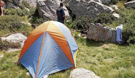 Una de les denúncies va ser per acampar en zona no autoritzada.