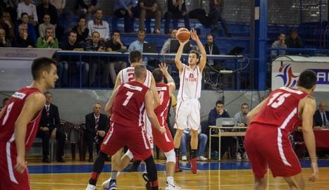 El serbi Brano Djukanovic, nou fitxatge de l'Actel Força Lleida