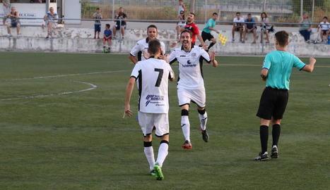 L'equip de les Garrigues va sumar una nova victòria.