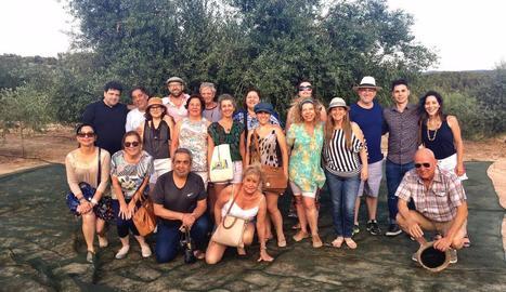 Els xefs del Brasil que van participar en el FoodSafari.