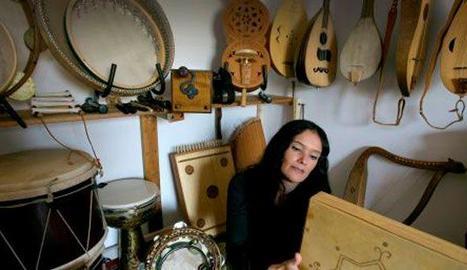 La intèrpret de música sefardita Mara Aranda.