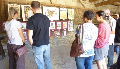 Salàs acull durant el cap de setmana pintors del Pallars i forans en diverses exposicions.