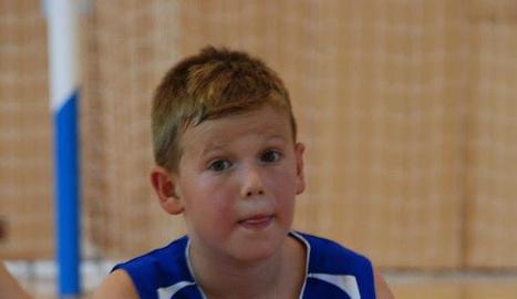 Un dels participants al campus de la Lliga ACB a Aran.