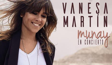 La cantautora malaguenya Vanesa Martín.