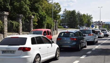 Retencions en 15 quilòmetres per entrar a Andorra