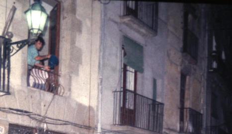 aigua. Als anys noranta era molt habitual que els veïns mullessin els participants del correfoc.