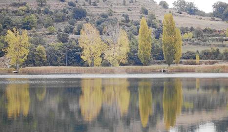 L'estany de Montcortés.