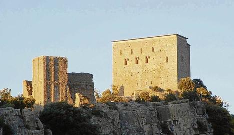 Vista exterior del castell de Llordà.