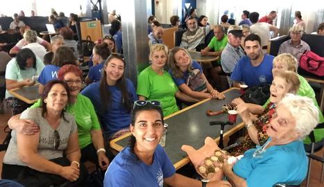 Joves lleidatans fan de voluntaris en diversos països europeus.