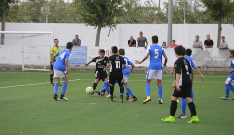 La Copa Lleida Infantil va arrancar amb l'anada dels quarts de final.