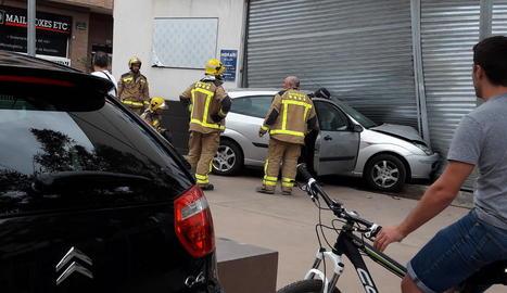 Una imatge de l'accident.